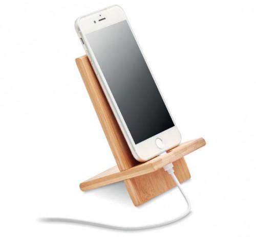 Support Téléphone Bambou