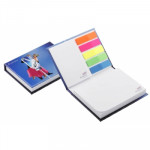 Carnet Note repositionnable couverture rigide
